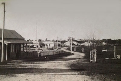 View of the Esplanade, Paynesville, early 1900s