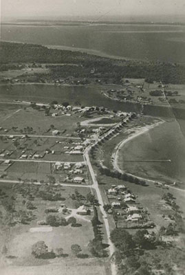 Aerial view of Paynesville