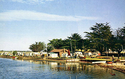 Caravans on Foreshore, early 1960s