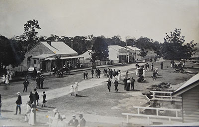 Foreshore, early 1900s