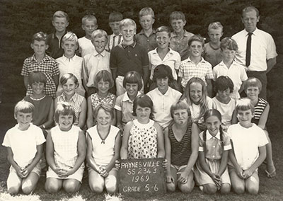 Paynesville Primary School Grades 5 and 6, 1969