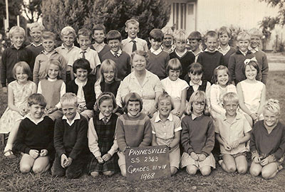 Paynesville Primary School Grades 3 and 4, 1968