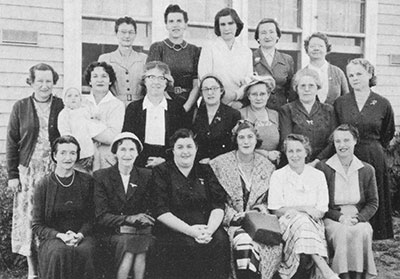 Paynesville Primary School Mothers Club late 1950s
