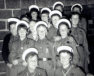 1st Paynesville Girl Guides, late 1950s