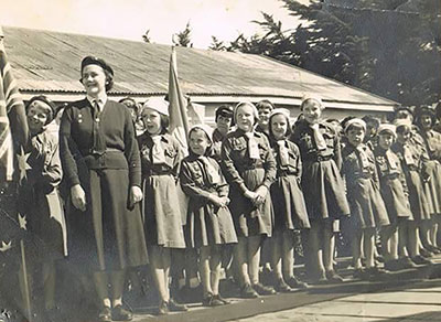 Brownies - Governor Visit, 1963