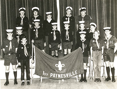 1st Scout Group, early 1970s